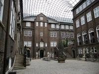 Hamburg Museum courtyard © Wolfgang Meinhart