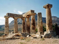 Ancient Corinth © Alun Salt