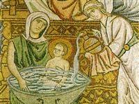 Mosaic from Daphni Monastery © Public Domain
