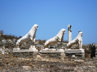 The Lions' Terrace in Delos © jandiano