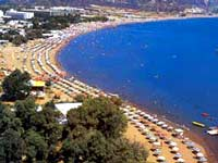 Faliraki beach
