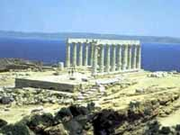 Poseidon's Temple, Cape Sounion © GNTO