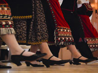 Greek dancers ©
