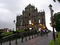 Ruins of St Paul's Cathedral, Macau © Arman Aziz