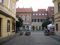 Keszthely town centre © Alensha