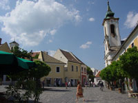 Szentendre main square © Wikimedia Commons