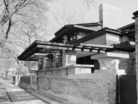 Frank Lloyd Wright's Home © Library of Congress