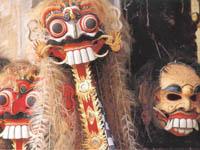 Bali masks ©