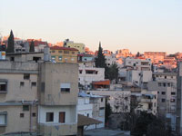 Nazareth neighbourhood at dusk ©