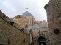 Church of the Holy Sepulchre, Jerusalem © Allon Raveh