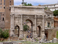 Arch of Titus, Roman Forum © Chantelle Meyer