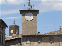 Orvieto clocktower © Tom Pitman