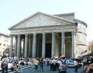The Pantheon © www.bluffton.edu