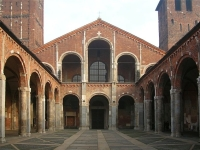 Basilica of Sant\'Ambrogio © Idéfix