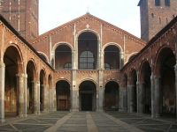 Basilica of Sant'Ambrogio © Bernt Rostad