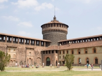 Sforzesco Castle © Ben Zibble