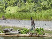 Banana raft on the Rio Grande © Port Antonio Tourism
