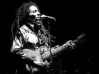 Bob Marley live in concert © Ueli Frey