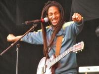 A Rastafarian musician © Maykl Tafari