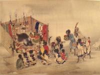 Ainu Art circa 1870 © PHGCOM