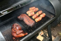 The Blues & Barbecue Festival in Kentucky offers great blues and barbecue. © Oddjob