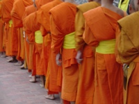 Monks Alms Ceremony in Luang Prabang © amanderson2