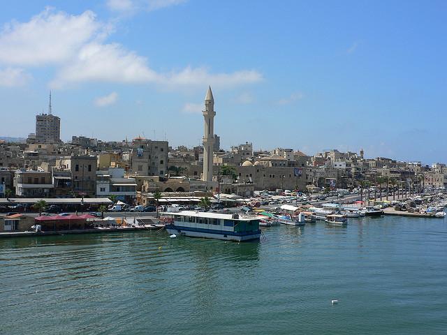 Sidon Port © Heather Cowper