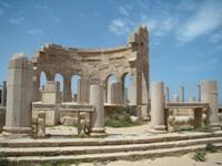Leptis Magna Ruins in Libya © rafa