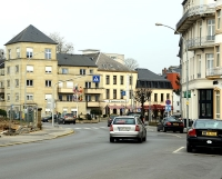The town of Mondorf-les-Bains © Jwh