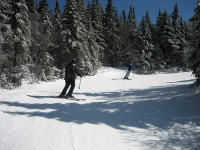 Skiing in Saddleback