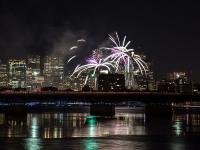 First Night fireworks © Bill Damon
