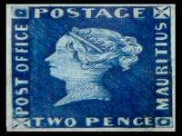 Blue Penny Stamp © Petr Kalivoda