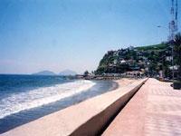 Mazatlan's promenade