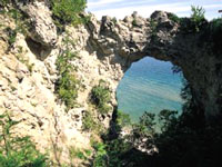 Arch Rock, Mackinac Island © Mackinac State Historic Parks
