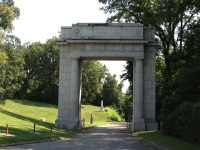 Memorial Arch at Vicksburg National Military Park © Ken Lund