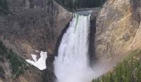 Yellowstone Falls in Yellowstone National Park © Scott Catron