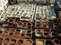 Leather Tanning, Fez © Bernard Gagnon