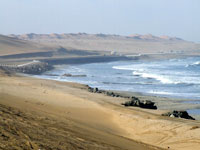 Swakopmund coastline