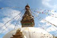 Swayambhu Stupa © Peretz Partensky