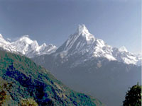 Machhapuchhare, Annapurna region © Scott Yost