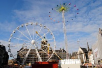 Funfair on Dam Square, Amsterdam © Nikthestoned