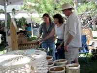 Cherish Parrish at the Santa Fe Indian Market © Uyvsdi