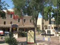 Taos Plaza and Hotel La Fonda © Zeality