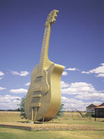 Golden Guitar, Tamworth © Jann Tuxford