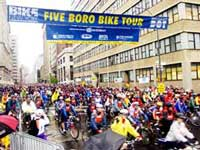 Commerce Bank Five Boro Bike Tour