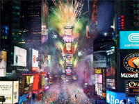 Times Square New Year�s Eve Celebrations