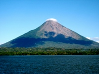 Concepcion Volcano on Ometepe Island © Mat Hanon