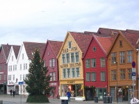 Bryggen historic houses © charley1965