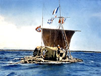 The Kon-Tiki balsa wood raft ©
