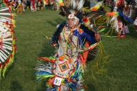 Mi'kmaq Native American Tribe dance celebration © Qias